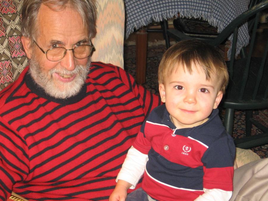 Bruce & Graham relaxing
