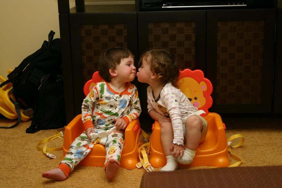 Kissing cousins #2