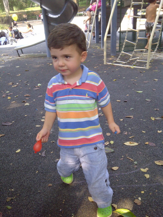 Early September, Central Park, NYC, playground
