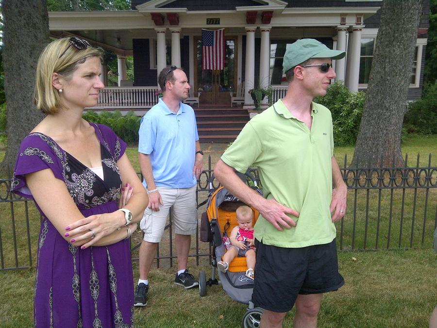 Enjoying the Owasco 4th of July parade